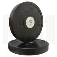 MA1 Pro Bumper Plates Black 20kg (Pairs)