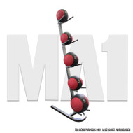 Medicine Ball Rack - 5 Med Ball Capacity