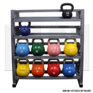 MA1 Commercial 4 Tier Kettlebell Rack