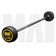 MA1 Fixed Rubber Barbell 22.5kg