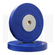 MA1 Elite Bumper Plate Colored 20kg Blue (Pairs)