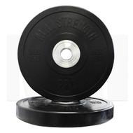 MA1 Pro Bumper Plate Black 15kg (Pairs)