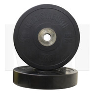 MA1 Pro Bumper Plate Black 25kg (Pairs)