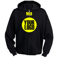 MA1 Warm up Hoodie with Zip - Custom Made
