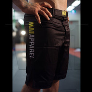Male BJJ / MMA Shorts - Black