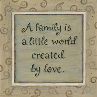 KT1407- A FAMILY IS A LITTLE