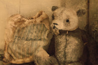 ANT114-ANTIQUE TEDDY BEAR