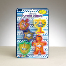 Plastic Chanukah Cookie Cutters