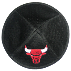 Chicago Bulls Yarmulke
