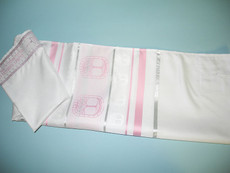 Ziontalis Tree of Life Pink Tallit Set