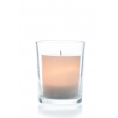 "LED Yahrzeit/Memorial Ivory ""Candle"" Holder"