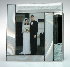 Susan Fullenbaum Stained Glass Shards Frame