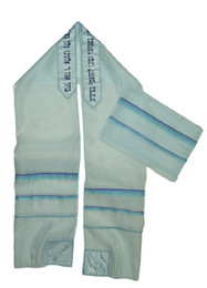 Light Blue Ice Tallit Set