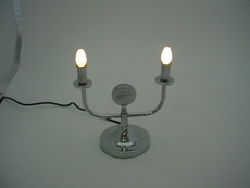 Electric Shabbat Candleabra
