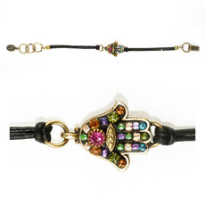 Michal Golan Multi-Color Hamsa Bracelet