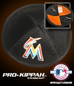 Miami Marlins Yarmulke