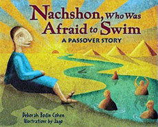 Nachson, Who Was Afraid to Swim Passover Story Book
