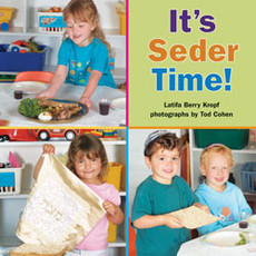 It's Seder Time Passover Story Book