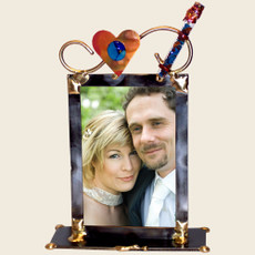 Gary Rosenthal Simple 5 x 7 Wedding Frame with Shards