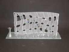 Beames Designs Woven Wave Menorah