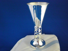 Elegant Silver Plated Kiddush Cup