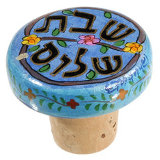 Shabbat Shalom Wine Bottle Recorker