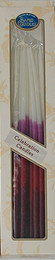 Pink & Purple Celebration Candles