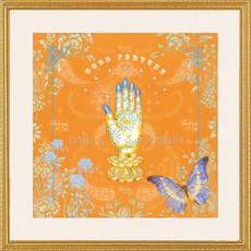 Caspi Cards and Art Hamsa Framed Art