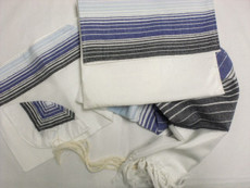 Gabrieli Silk Shades of Blue Tallit Set