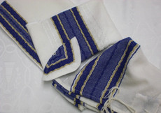 Gabrieli Wool Set with Royal Blue