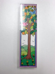 Bird & Tree Acrylic Mezuzah