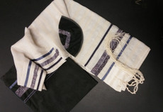 Eretz Designs Viscose Tallit Set