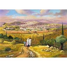 The Road to Yerushalayim (Jerusalem) 1000 Piece Jigsaw Puzzle