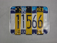 """11566"" License Plate Sign - Or Customize Your Own"