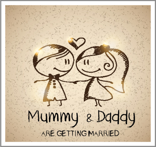 Mummy Daddy Are Getting Married Invitations