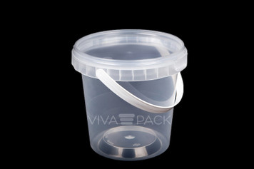 670ml Pot With Lid - 252 sets per box - 19p per pot and lid