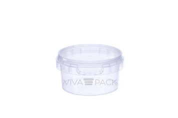 80ml Pot With Lid - 1175 sets per box - 6.4p per pot and lid