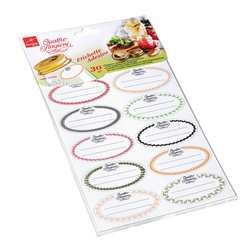 Adhesive Canning Labels