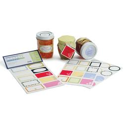 Adhesive Kitchen Labels