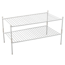 2 Shelf Cabinet Organizer