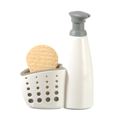 Sink Side Soap & Sponge Caddy