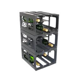Wine Crate Black