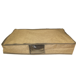 Natural Fabric Under Bed Storage Box