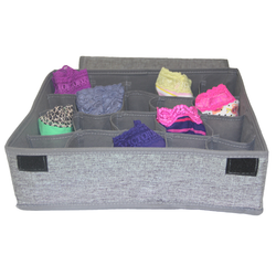 Fabric Divided Drawer Organizer