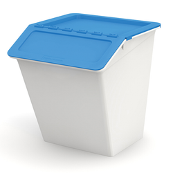 Small size of the stacking recycling bin.