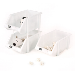 Toy storage using the Essential Stacking Bins