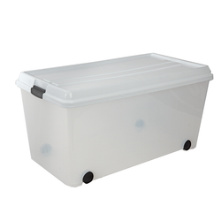 Essential White Storage Tote - Large size