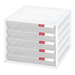 Stacking Desktop Drawer in white | Solutions Store