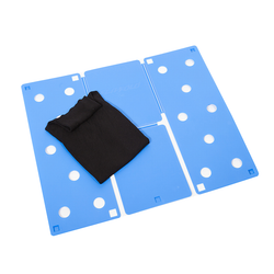 High quality PP material, durable and reusable. Folds clothes easily.