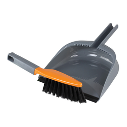 Deluxe Dustpan & Brush Set